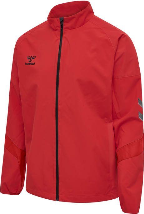 hmlLEAD TRAINING JACKET KIDS , TRUE RED, packshot