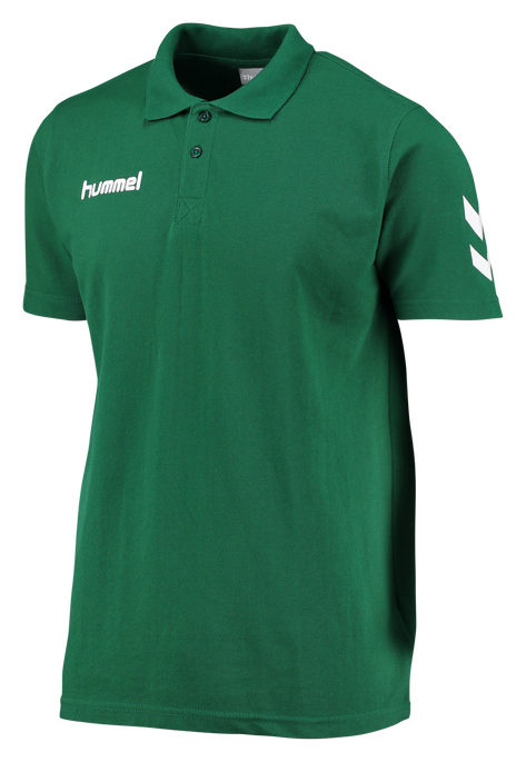 CORE COTTON POLO, EVERGREEN, packshot
