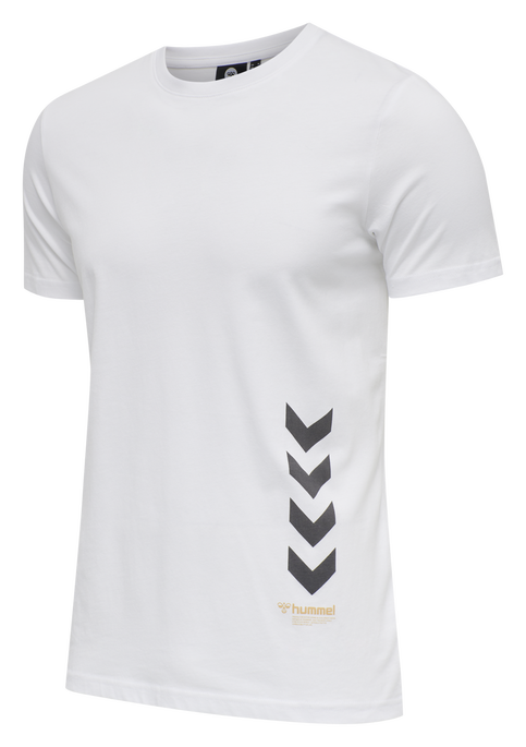 hmlPARSON T-SHIRT, WHITE, packshot
