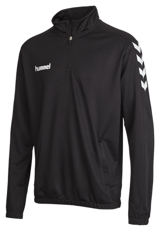 CORE 1/2 ZIP SWEAT, BLACK, packshot