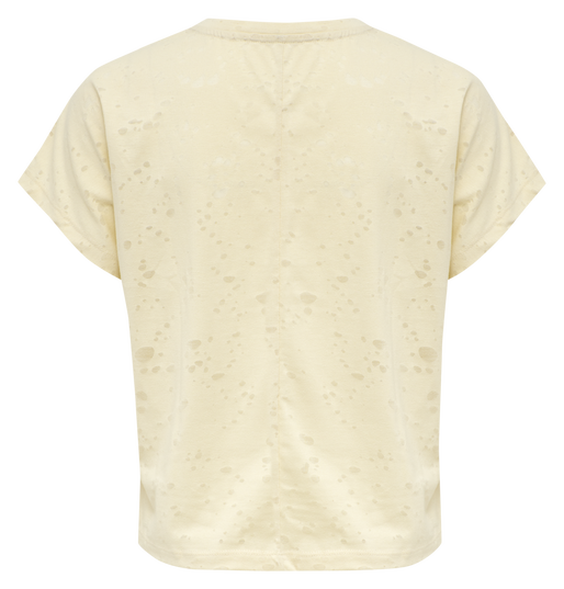 hmlSELLY T-SHIRT, BONE WHITE, packshot