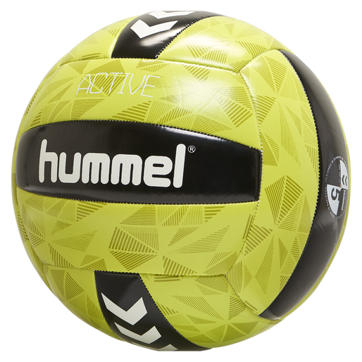 hmlACTIVE VOLLEY BALL, BLACK/SULPHUR, packshot