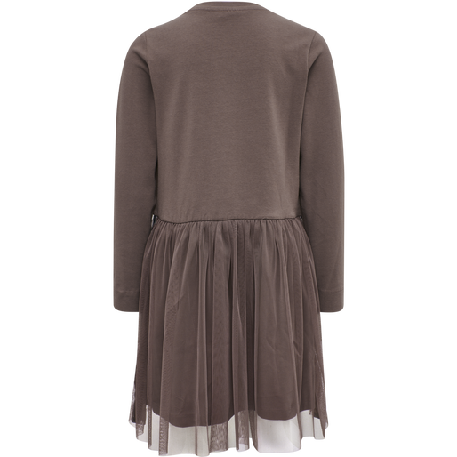 hmlMAE DRESS L/S, PEPPERCORN, packshot