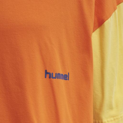 hmlMULTI COLOR T-SHIRT, CARROT, packshot