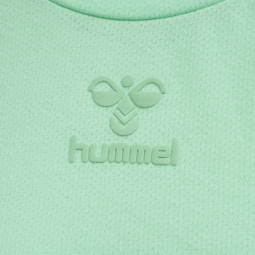 hmlVANJA T-SHIRT L/S, ICE GREEN, packshot