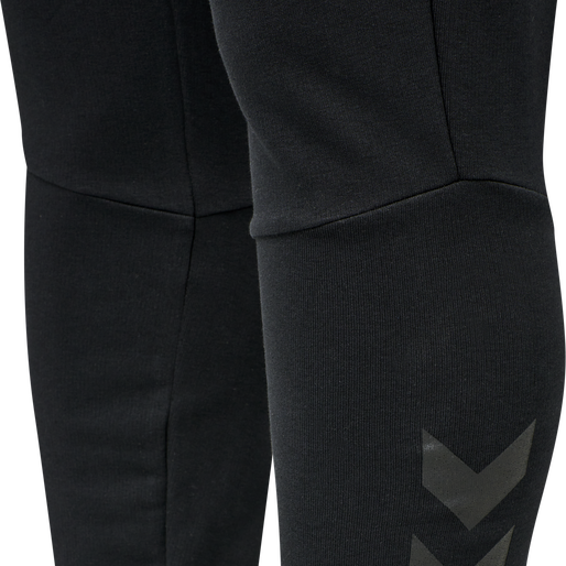 hmlISAM TAPERED PANTS, BLACK, packshot