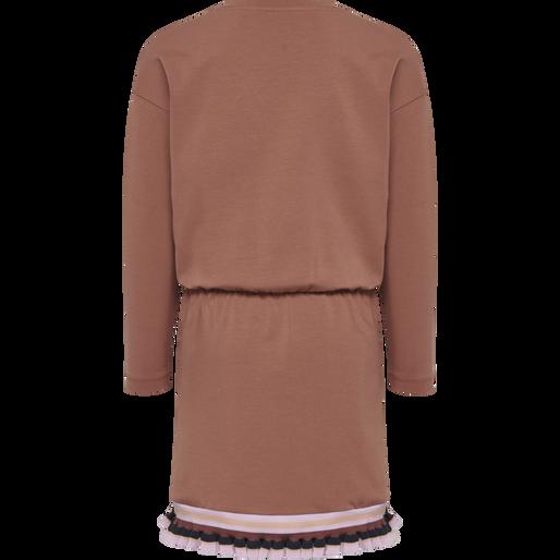 hmlBETTE DRESS L/S, CEDAR WOOD, packshot