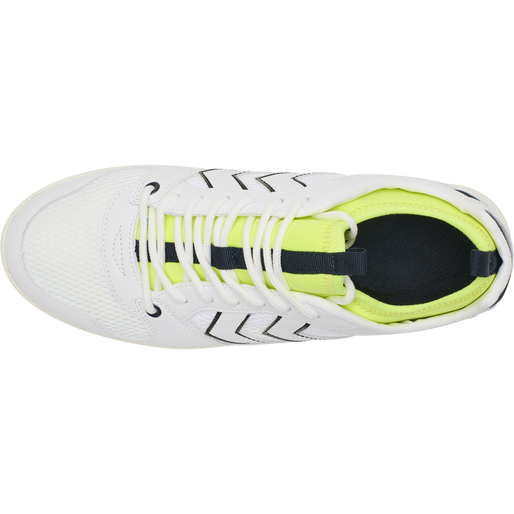 POWER PLAY MID TN, WHITE/SAFETY YELLOW, packshot