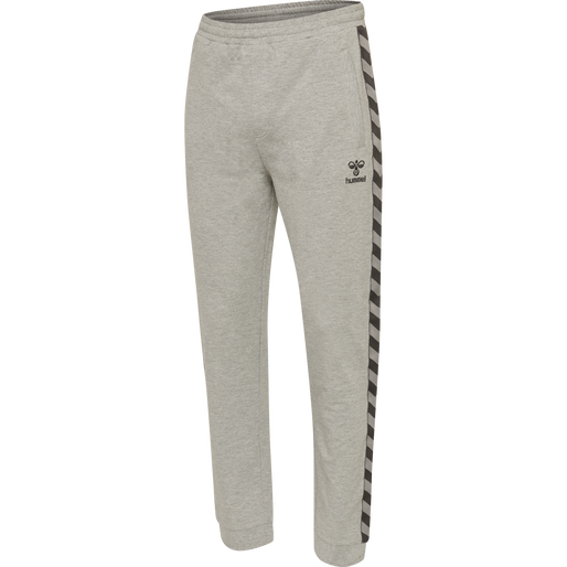 hmlMOVE KIDS CLASSIC PANTS, GREY MELANGE, packshot