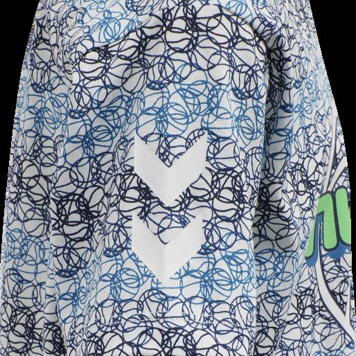hmlHEAT T-SHIRT S/S, ESTATE BLUE, packshot