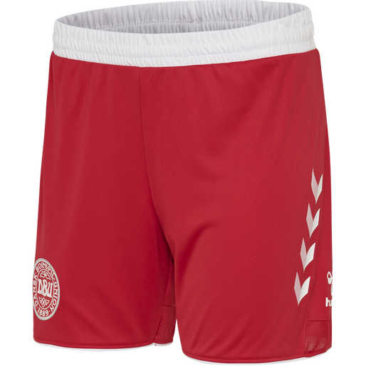 DBU AWAY WOMAN SHORTS, TANGO RED, packshot