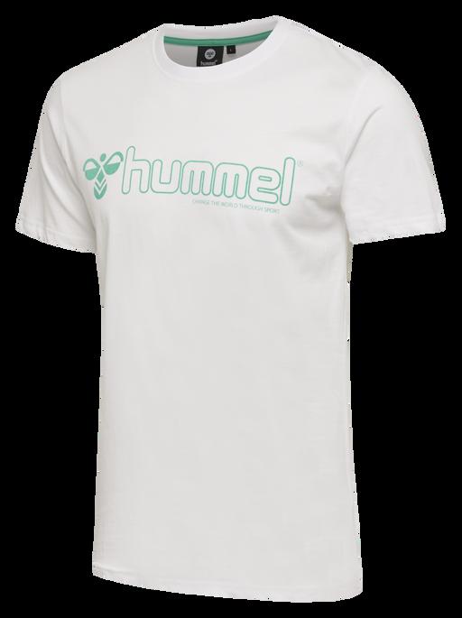 hmlMARCEL T-SHIRT S/S, WHITE, packshot