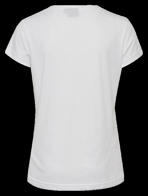 hmlROSE T-SHIRT S/S, WHITE, packshot