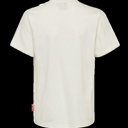 hmlJASPER T-SHIRT S/S, WHISPER WHITE, packshot