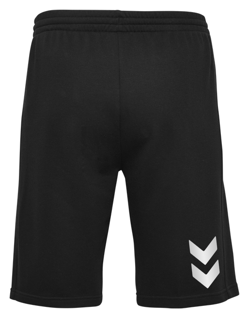 HUMMEL GO COTTON BERMUDA SHORTS, BLACK, packshot