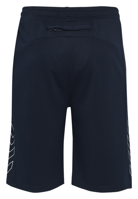 hmlJULIUS SHORTS, BLACK IRIS, packshot