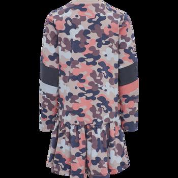 hmlPOLLY DRESS L/S, BARK, packshot