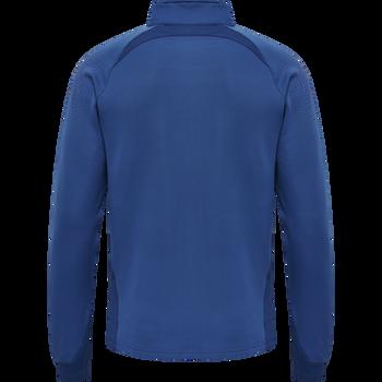 hmlLEAD POLY ZIP JACKET, TRUE BLUE, packshot