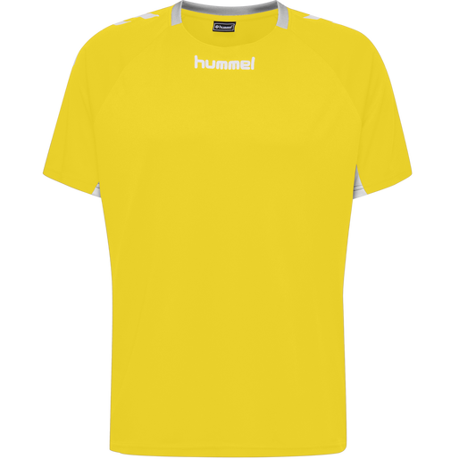 CORE KIDS TEAM JERSEY S/S, SPORTS YELLOW, packshot