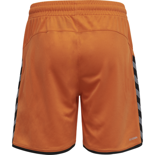 hmlAUTHENTIC KIDS POLY SHORTS, TANGERINE, packshot