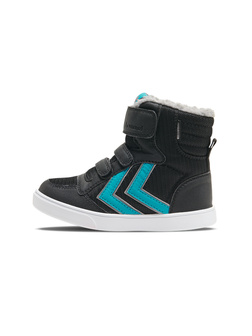 STADIL POLY BOOT MID JR, BLACK/LAKE BLUE, packshot