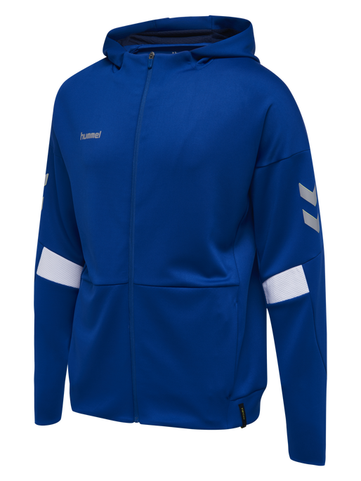 TECH MOVE KIDS ZIP HOOD, TRUE BLUE, packshot