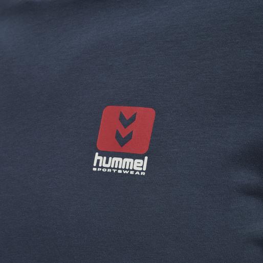 hmlLGC GRAHAM T-SHIRT, BLUE NIGHTS, packshot