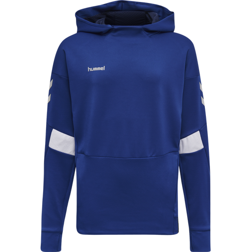 TECH MOVE KIDS POLY HOODIE, TRUE BLUE, packshot