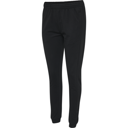 HUMMEL GO COTTON PANTS WOMAN, BLACK, packshot