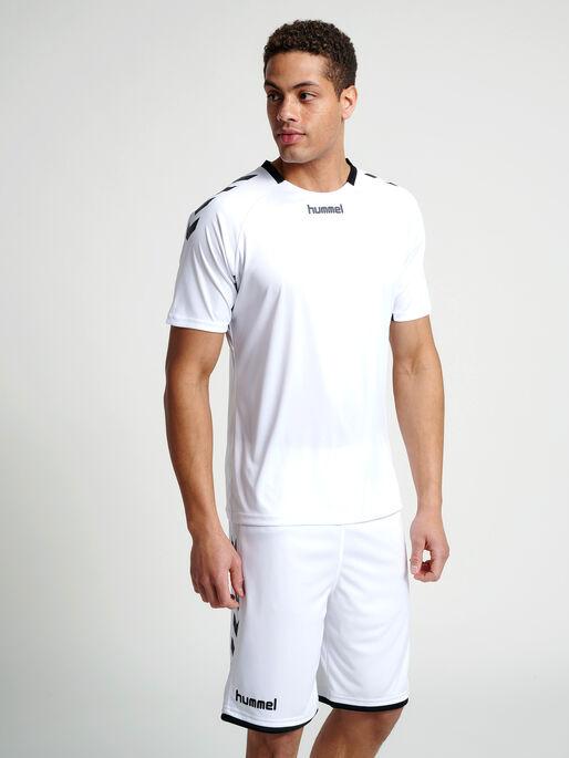 CORE TEAM JERSEY S/S, WHITE, model