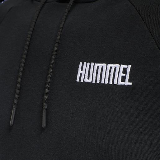 hmlLIMO HOODIE, BLACK, packshot