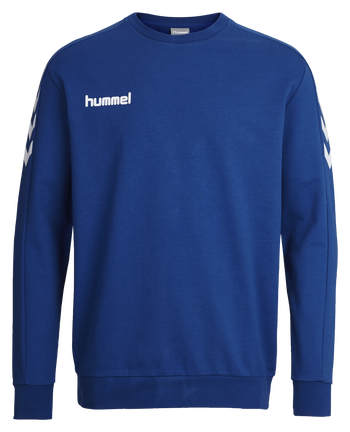 CORE COTTON SWEAT, TRUE BLUE, packshot