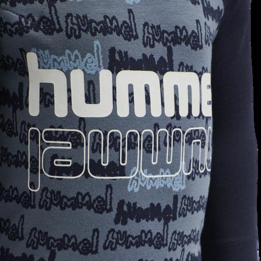 hmlBILLY BODY L/S, CHINA BLUE, packshot