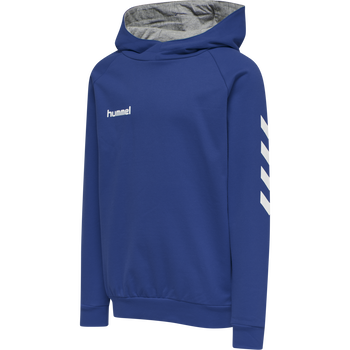 HUMMEL GO KIDS COTTON HOODIE, TRUE BLUE, packshot