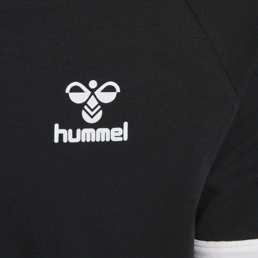 hmlJIMMY T-SHIRT S/S, BLACK, packshot