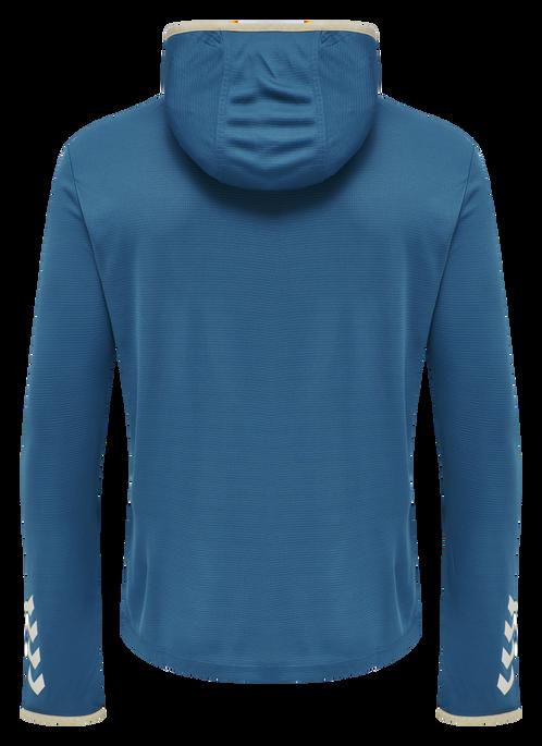 hmlARIUS HOODIE, BLUE SAPPHIRE, packshot
