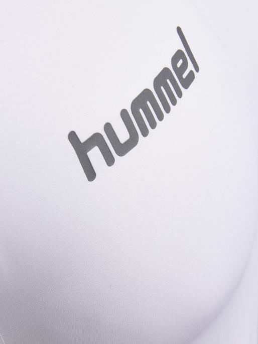 HUMMEL FIRST PERF SS JERSEY, WHITE, packshot