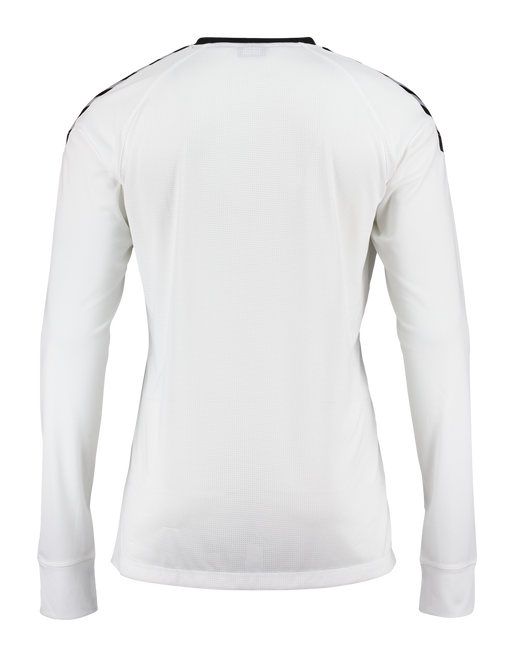 AUTH. CHARGE LS POLY JERSEY, WHITE, packshot