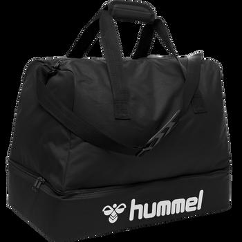 CORE FOOTBALL BAG, BLACK, packshot