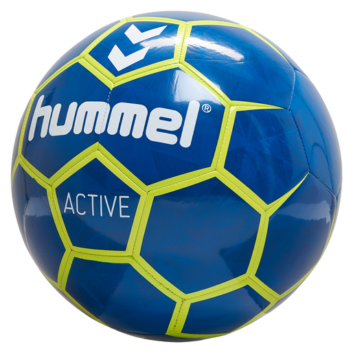 hmlACTIVE FOOTBALL, TRUE BLUE/SULPHUR SPRING, packshot