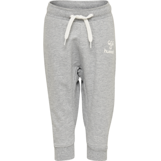HMLAPPLE PANTS, GREY MELANGE, packshot