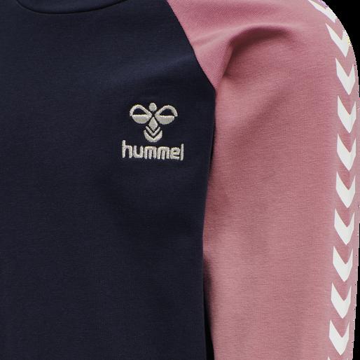 hmlKAMILLA DRESS L/S, BLACK IRIS, packshot