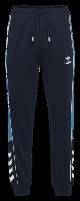 hmlLIAM REGULAR PANTS, BLACK IRIS, packshot