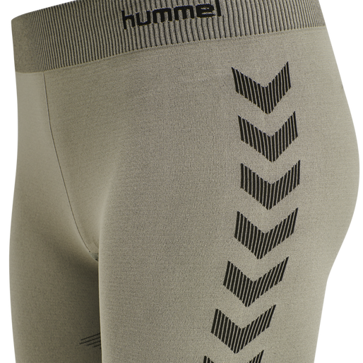 hmlFIRST SEAMLESS TRAINING SHORT TIGHTS WOMEN, LONDON FOG, packshot