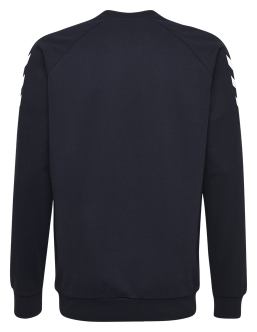 HUMMEL GO KIDS COTTON SWEATSHIRT, MARINE, packshot