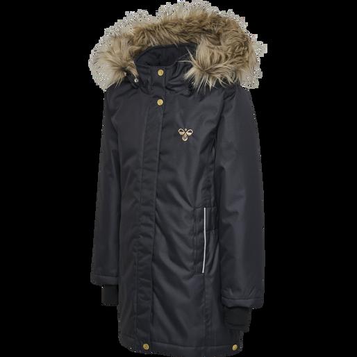hmlMARTHA COAT, GRAPHITE, packshot
