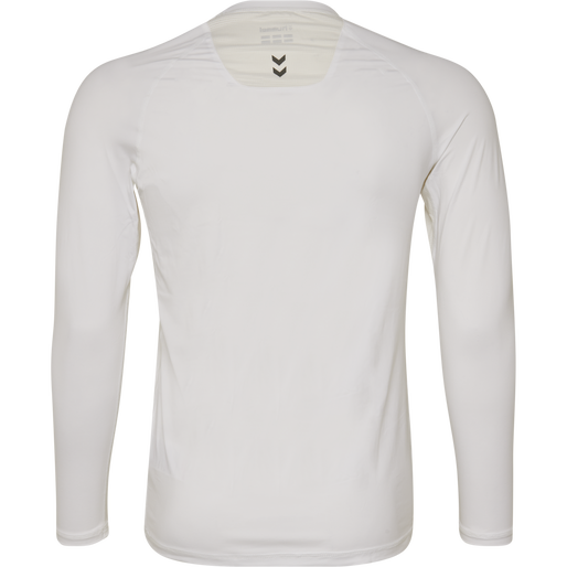 HUMMEL FIRST PERFORMANCE JERSEY L/S, WHITE, packshot