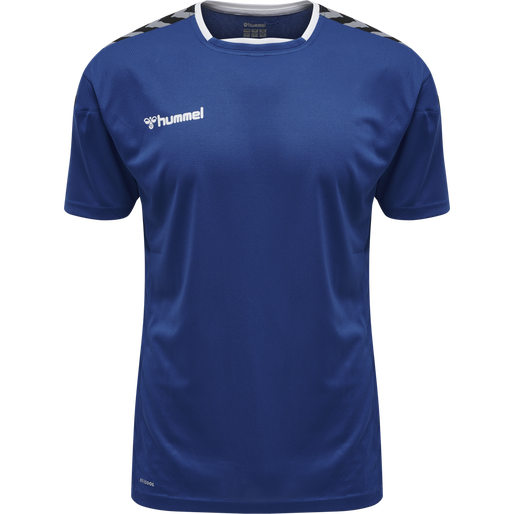 hmlAUTHENTIC POLY JERSEY S/S, TRUE BLUE, packshot