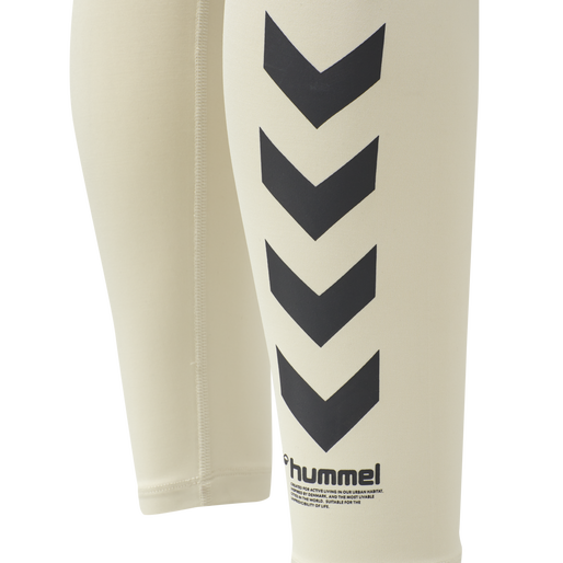 hmlLOTUS HIGH WAIST TIGHTS , BONE WHITE, packshot