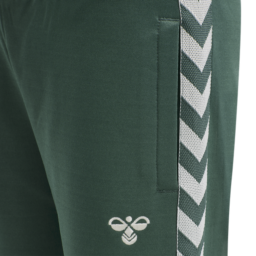 HMLKICK PANTS, MALLARD GREEN, packshot